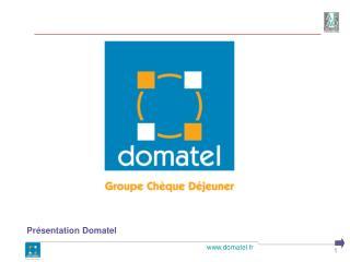 Présentation Domatel