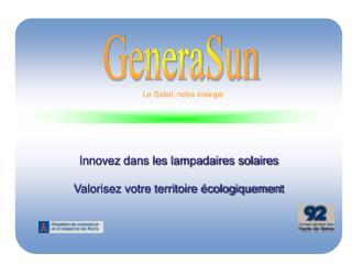 Le Soleil, notre énergie