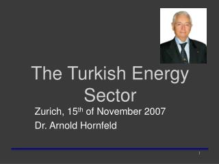 The Turkish Energy Sector