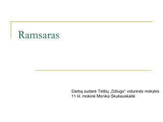 Ramsaras