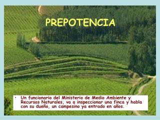 PREPOTENCIA