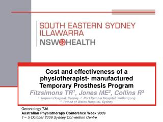 Cost and effectiveness of a physiotherapist- manufactured  Temporary Prosthesis Program