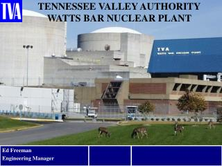 TENNESSEE VALLEY AUTHORITY WATTS BAR NUCLEAR PLANT