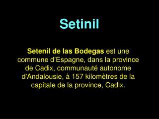 Setinil