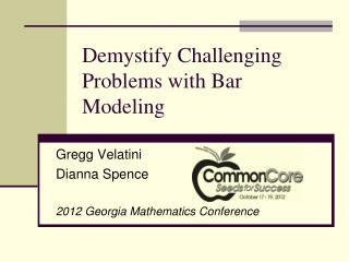 Demystify Challenging Problems with Bar Modeling