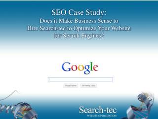 SEO Case Study