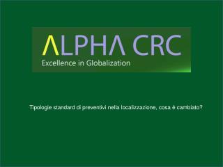 Tipologie standard di preventivi nella localizzazione, cosa è cambiato?