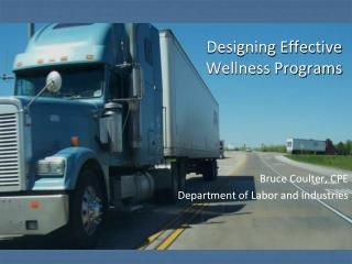 Designing Effective Wellness Programs