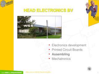 HEAD ELECTRONICS BV
