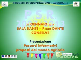 P.S.R. 2007/2013