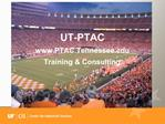 UT-PTAC  PTAC.Tennessee Training  Consulting