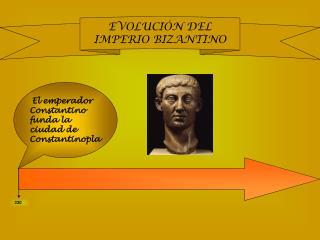 El emperador Constantino funda la ciudad de Constantinopla