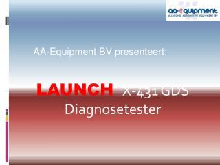 LAUNCH X-431 GDS  Diagnosetester
