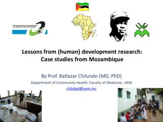 Lessons from (human) development research: Case studies from Mozambique