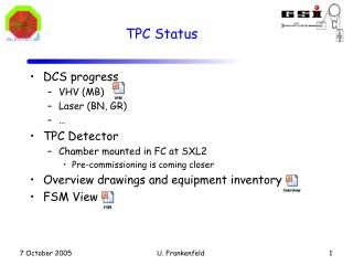 TPC Status