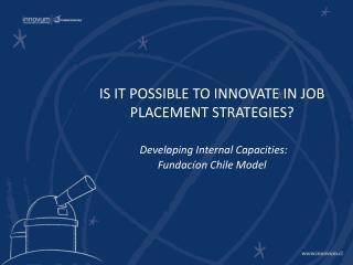 Facilitating  Job Placement:  Needs and Gaps