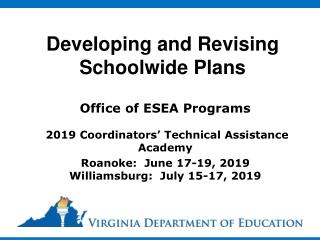 School Development Planning Initiative Guidance Planning