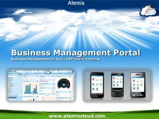 Business Management Portal Business Management on line | ERP 100% Internet