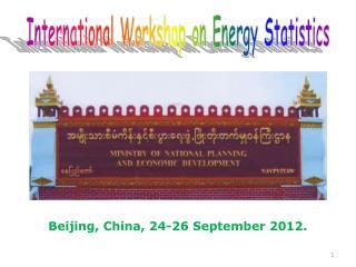 Beijing, China, 24-26 September 2012.