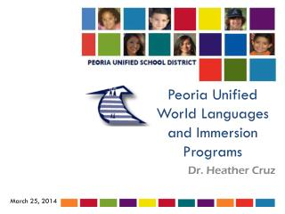Peoria Unified World Languages and Immersion Programs