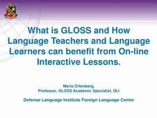 Defense Language Institute Foreign Language Center