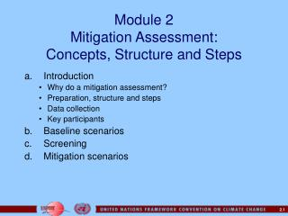 Module 2 Mitigation Assessment:  Concepts, Structure and Steps