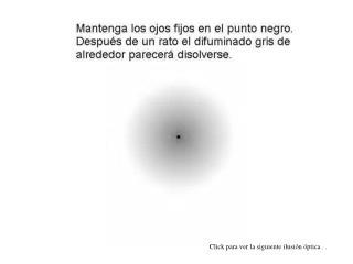 Click para ver la siguiente ilusión óptica . .