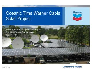 Oceanic Time Warner Cable Solar Project