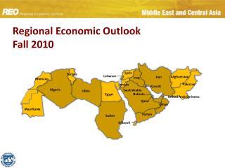 Regional Economic Outlook Fall 2010