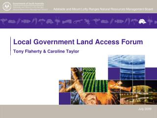 Local Government Land Access Forum