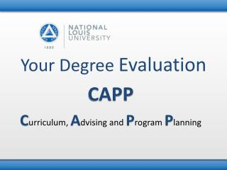 Your Degree  Evaluation