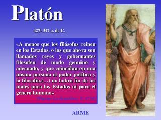 P latón 427- 347 a. de C.