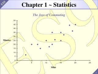 Chapter 1 ~ Statistics