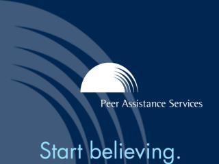 Rebecca Heck, BSN, RN, MPH Director, Nursing Peer Health Assistance/