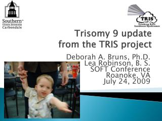 Trisomy 9 update  from the TRIS project