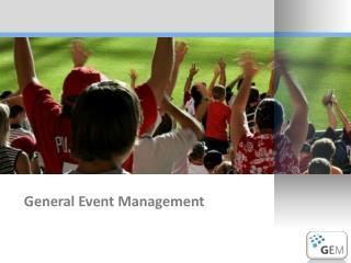 General Event Management