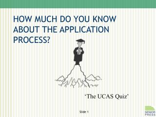 HOW MUCH DO YOU KNOW ABOUT THE APPLICATION PROCESS?