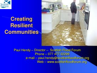 Creating Resilient Communities