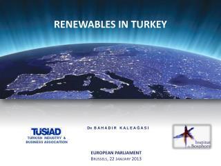 RENEWABLES IN TURKEY