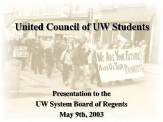 United Council of UW Students