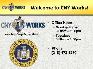 Welcome to CNY Works!