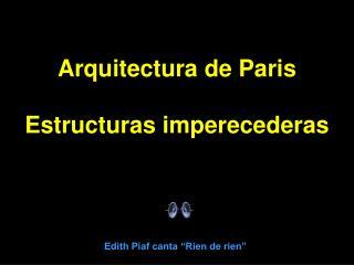 """Edith Piaf canta """"Rien de rien"""""""