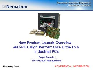 New Product Launch Overview - e PC-Plus High Performance Ultra-Thin  Industrial PCs