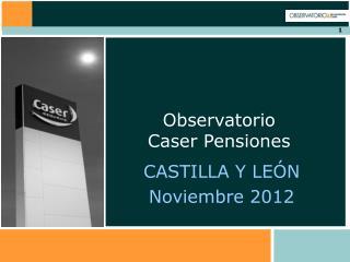 CASTILLA Y LEÓN Noviembre 2012