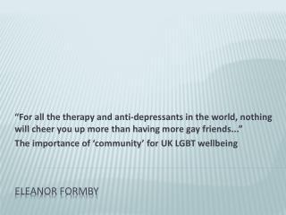 Eleanor Formby