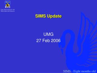 SIMS Update