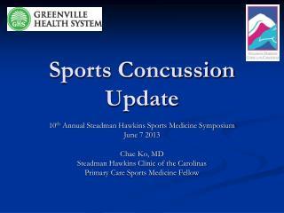 Sports Concussion Update
