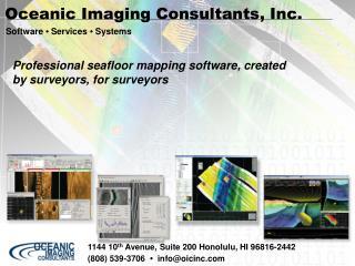 Oceanic Imaging Consultants, Inc.