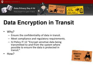 Data Encryption in Transit