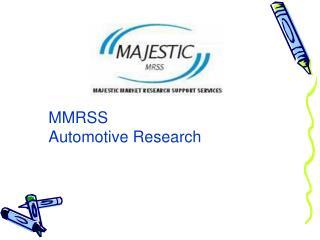 mARS - MMRSS Automotive Research
